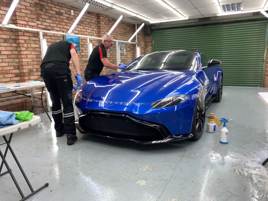 Aston Martin Paint Protection Film (PPF)