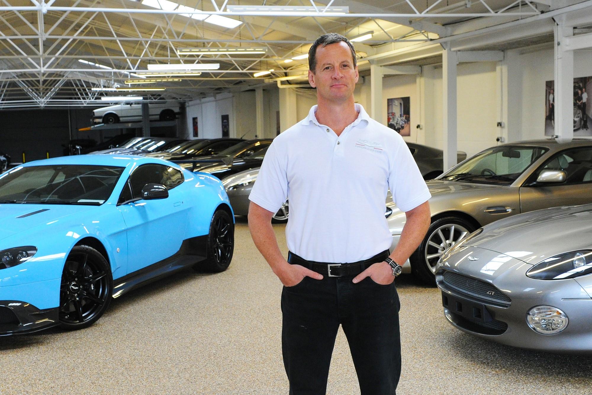 Aston Martin dealer
