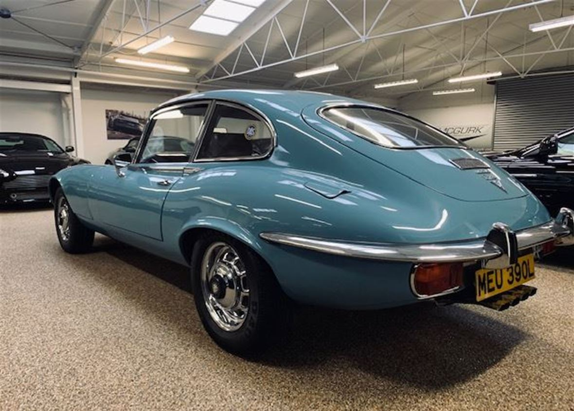 Used E-Type Jaguar