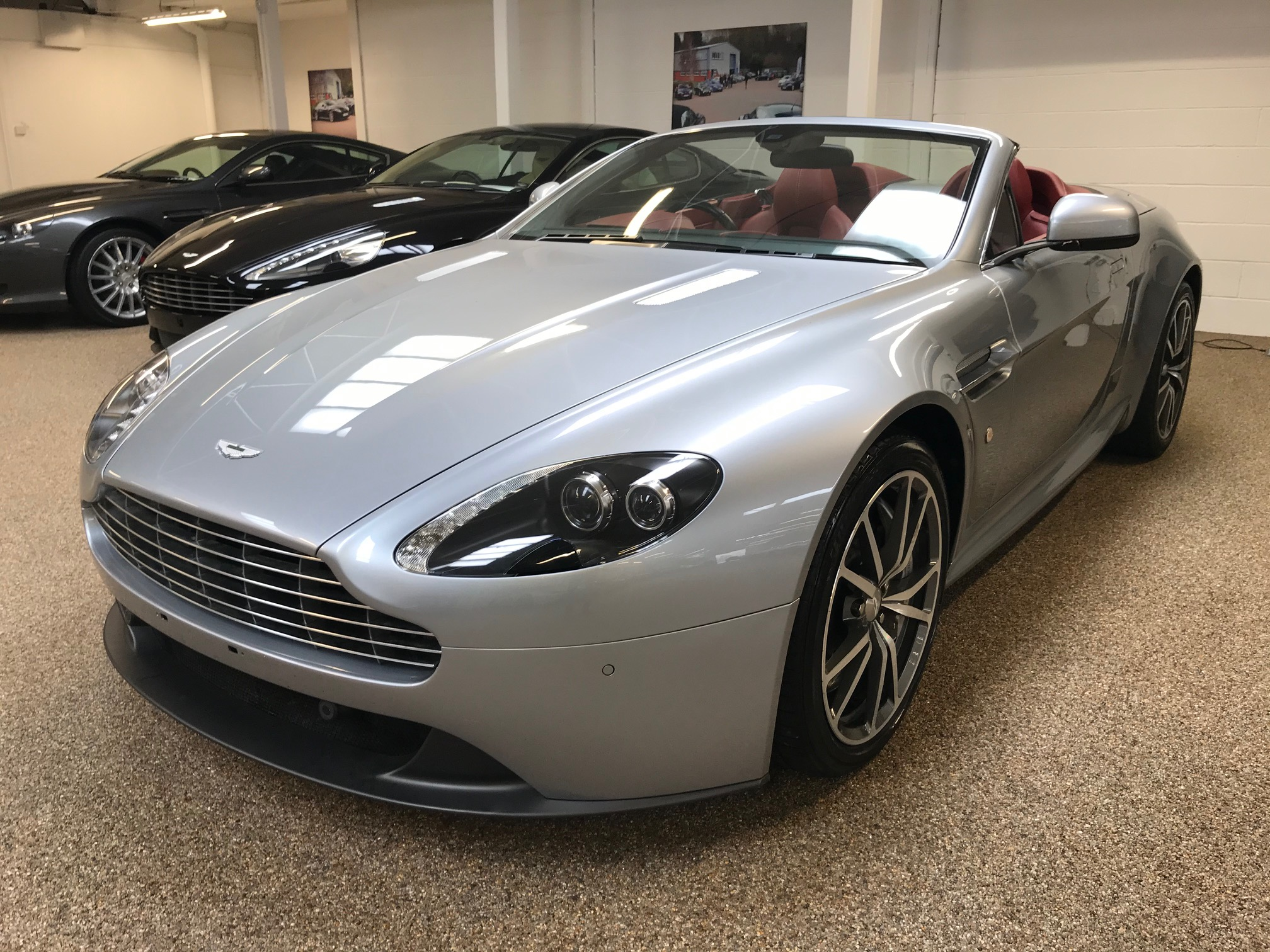 used Aston Martin Vantage Roadster