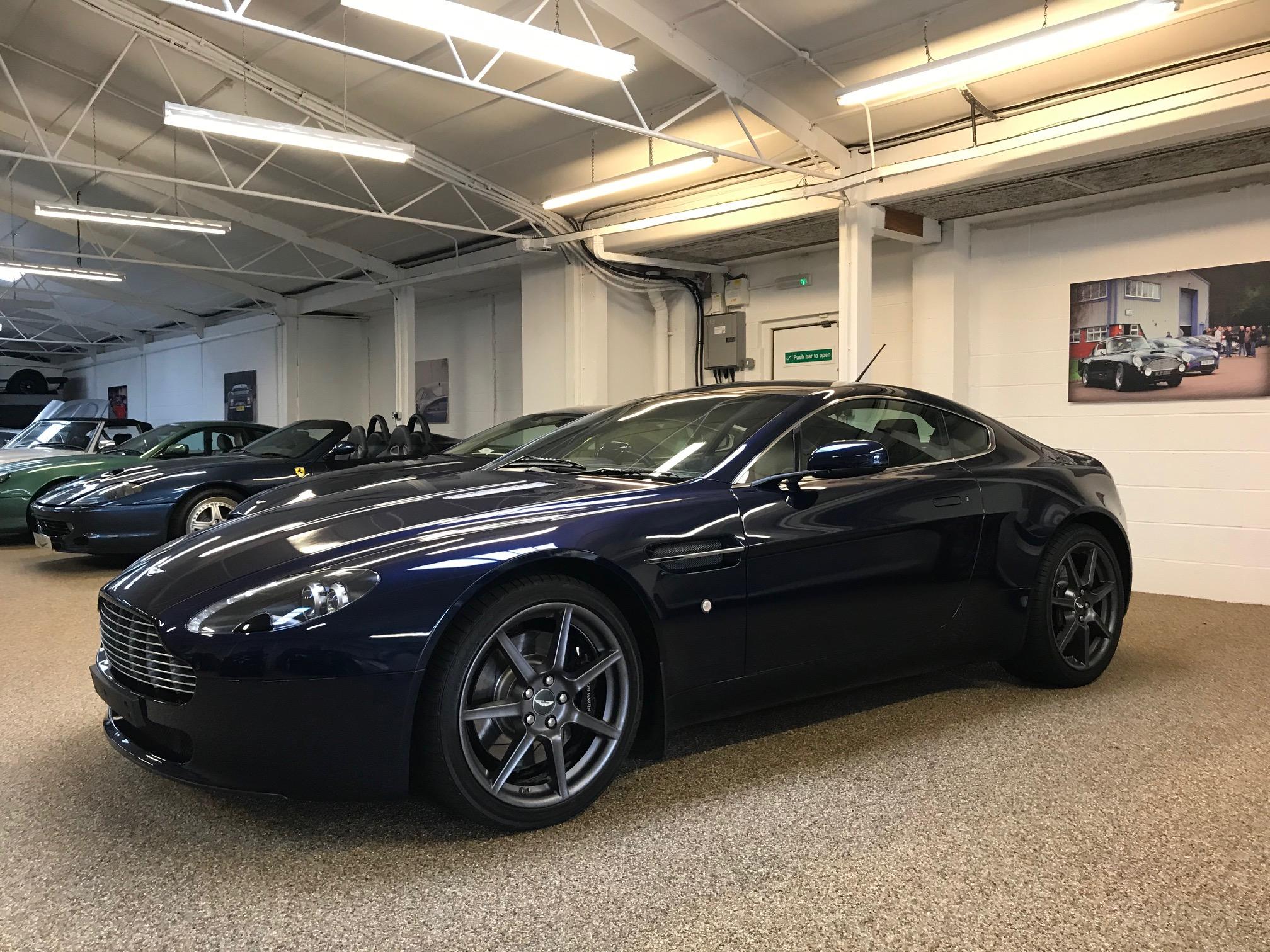 Aston Martin Vantage 4 3 Mcgurk Performance Cars
