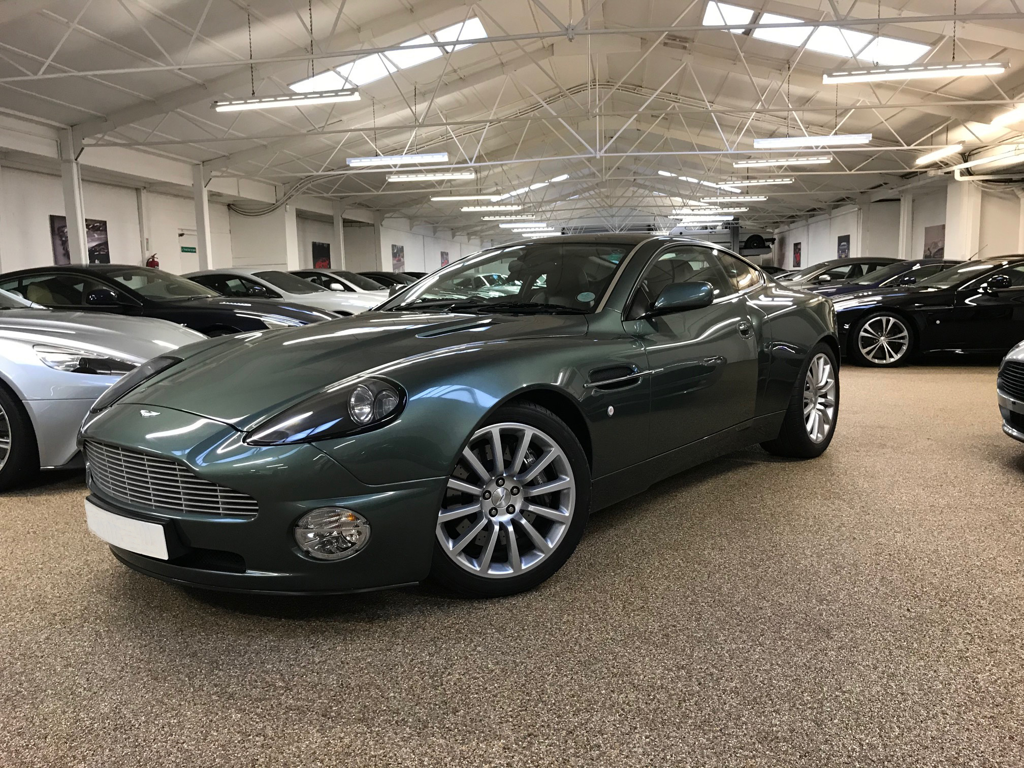 Used Aston Martin Vanquish Manual