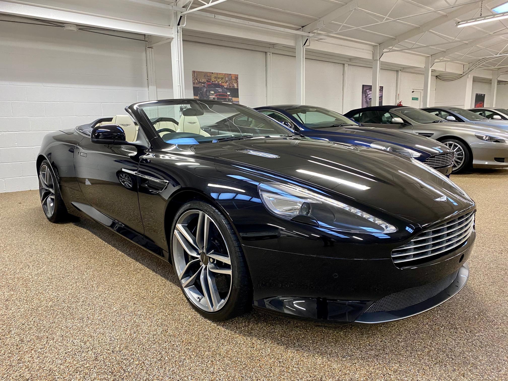 used Aston Martin Virage Volante