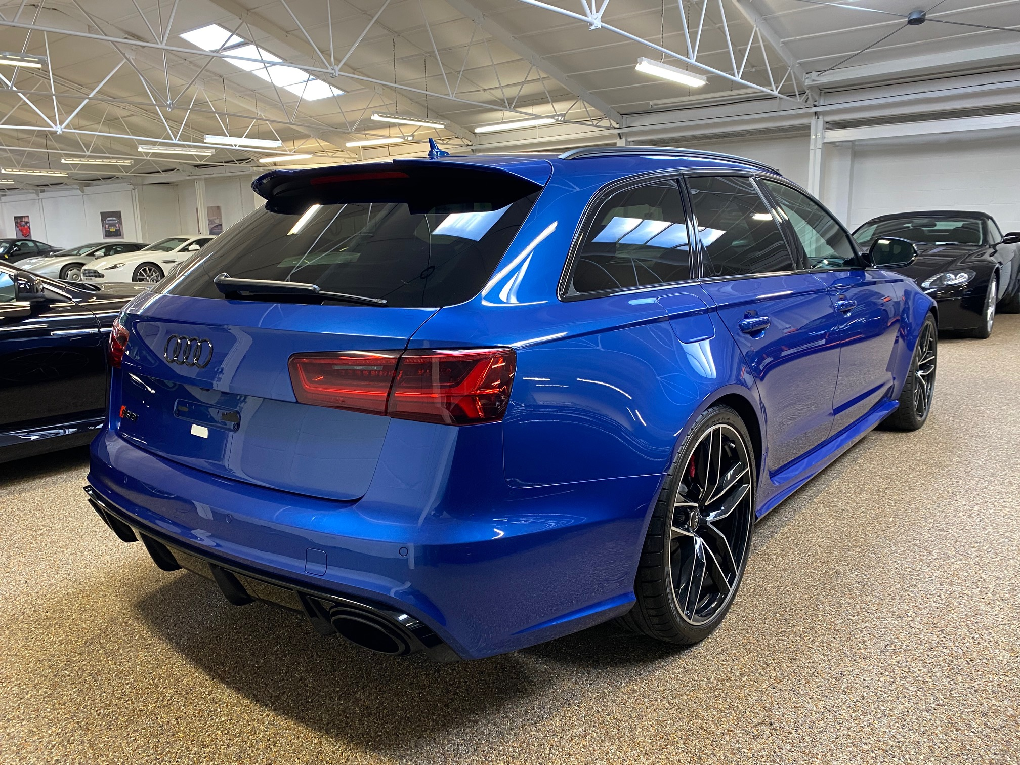 Used Sepang Blue Audi RS6 Avant for sale