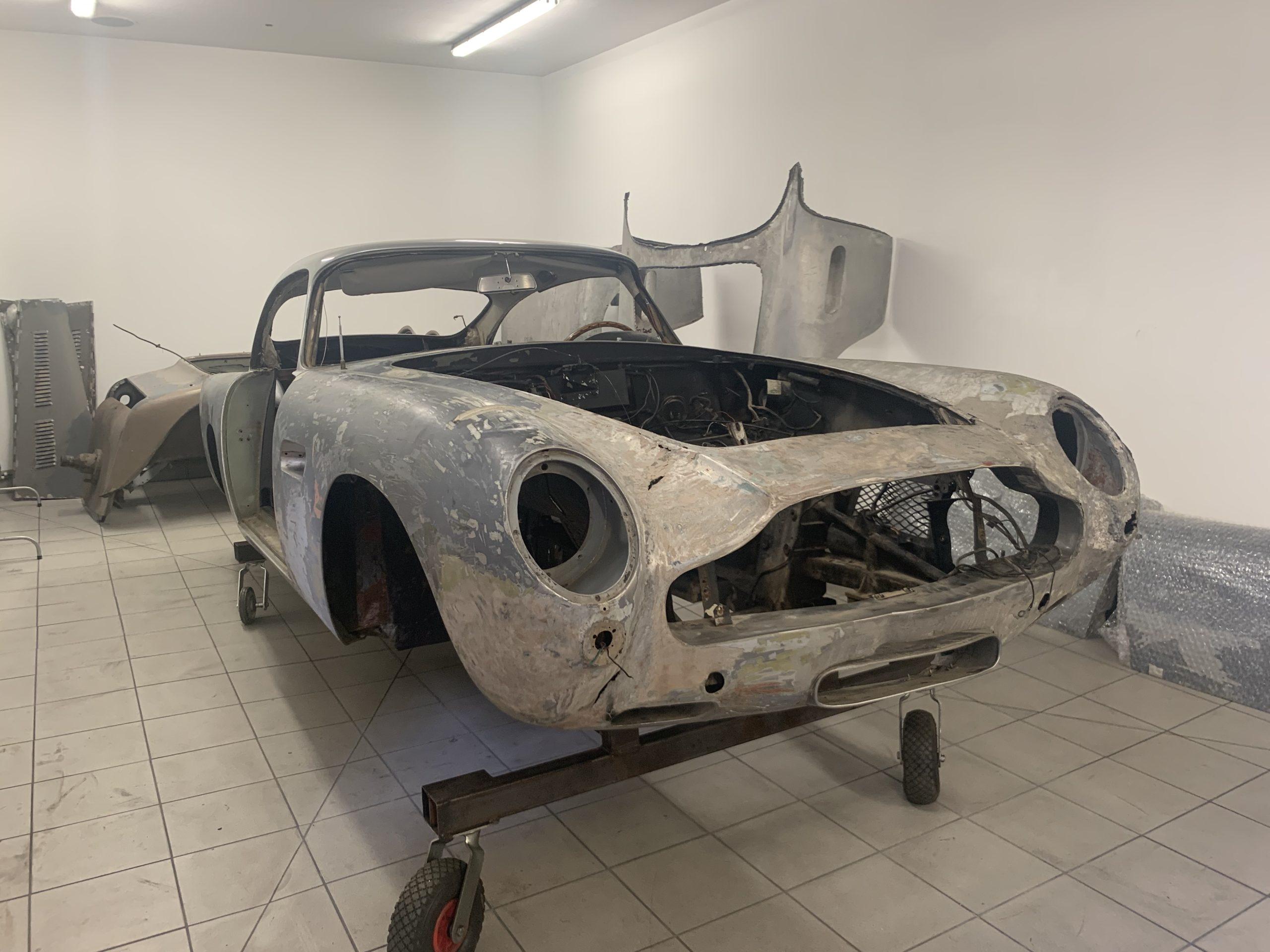 Aston Martin paint repair